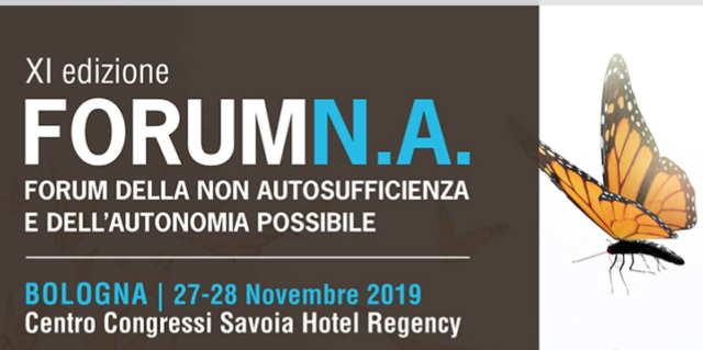 Forum della Non Autosufficienza edizione 2019